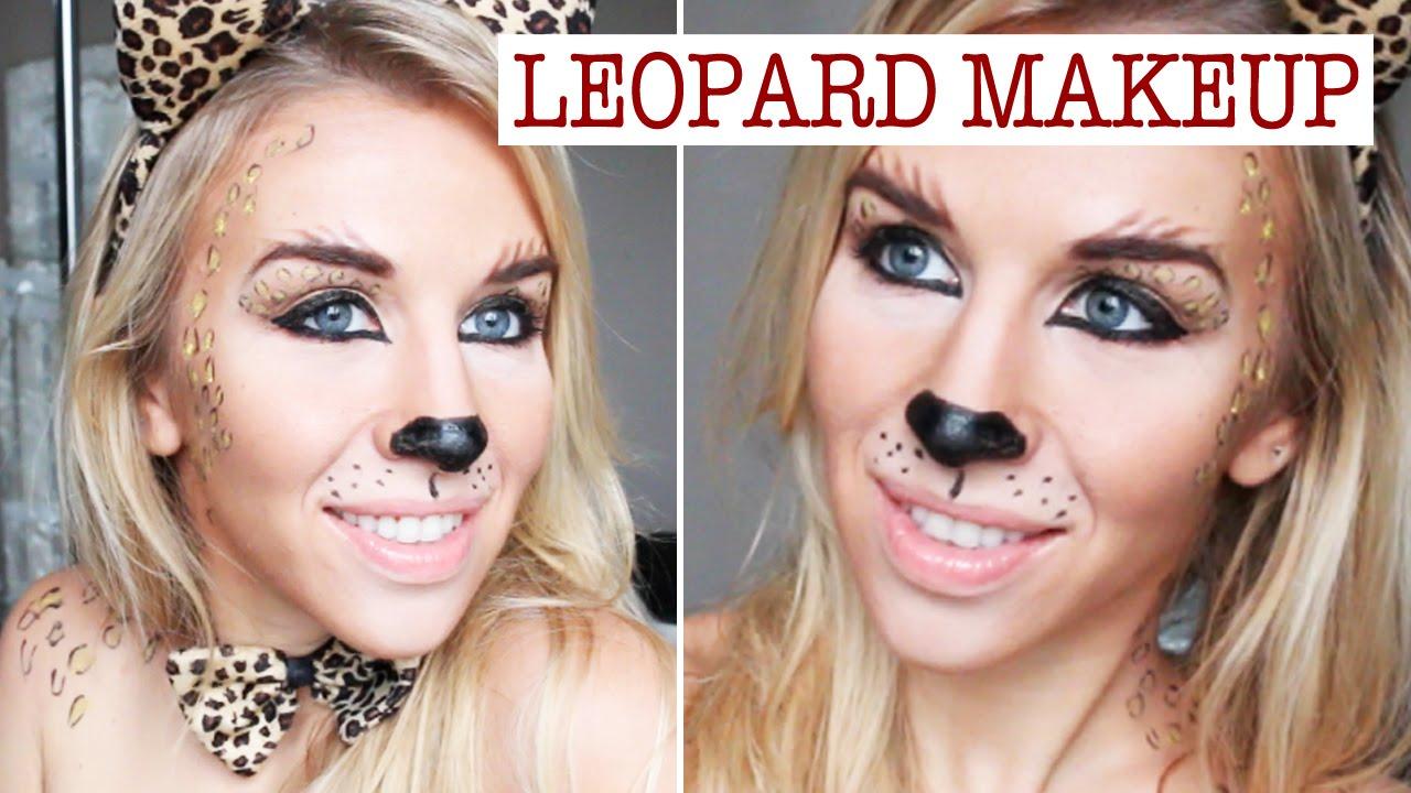 maquillage leopard leopard makeup youtube. Black Bedroom Furniture Sets. Home Design Ideas