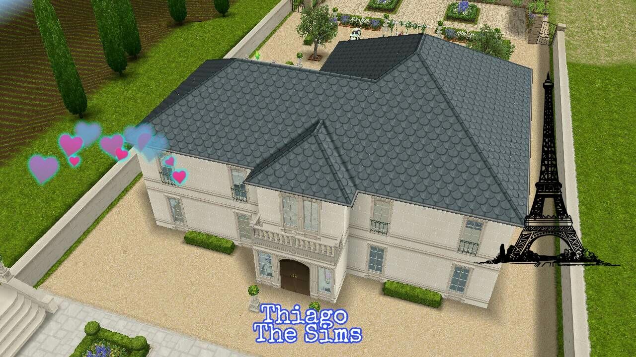 The sims freeplay tour pela casa de paris 43 youtube for Casa de diseno sims freeplay