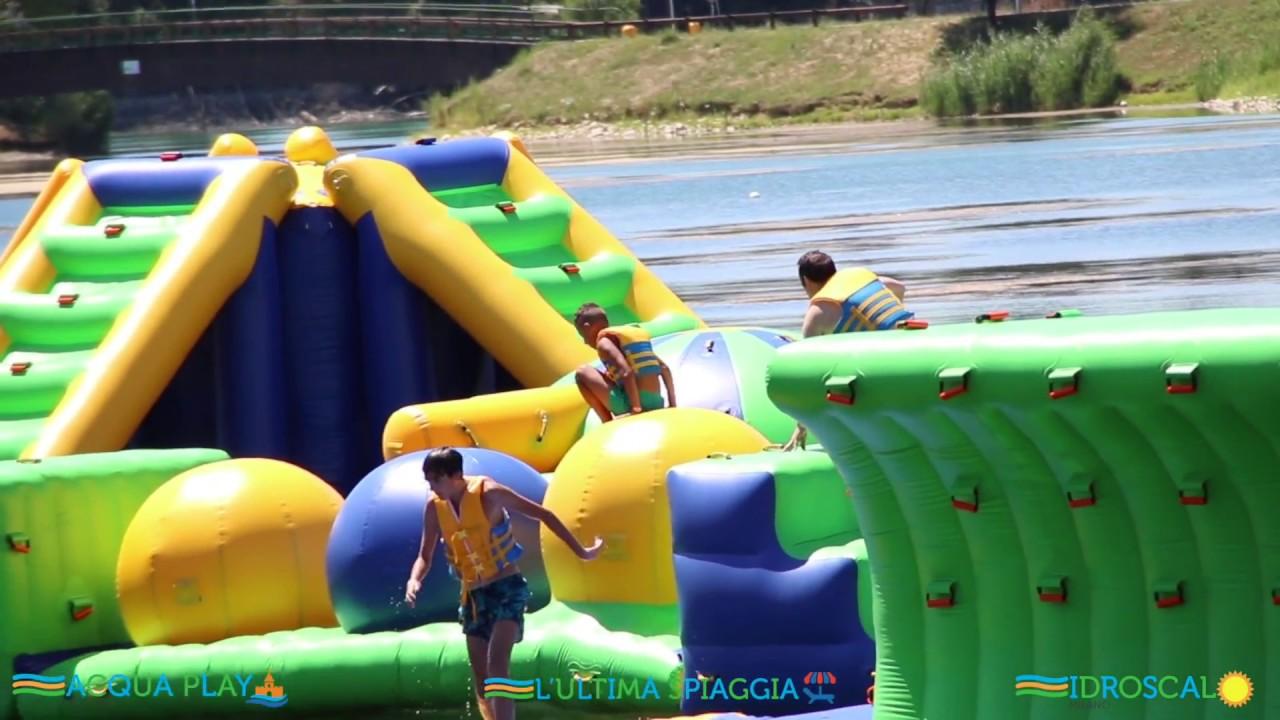 Acquaplay Water Complex Ultima Spiaggia Idroscalo Milano Youtube