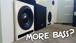 MORE SUBWOOFERS?!
