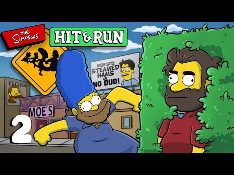 The Simpsons Hit and Run | Let's Play Ep. 2 | Super Beard Bros.