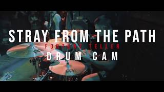 Stray From the Path - Fortune Teller - DRUM CAM (Live @ Chain Reaction)
