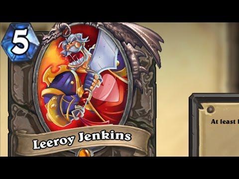 The Story of Leeroy Jenkins [Hearthstone Lore]