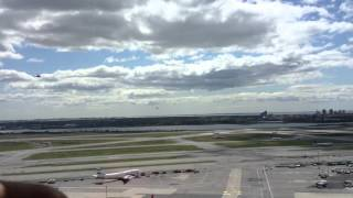 NASA Space Shuttle JFK Tower Flyby