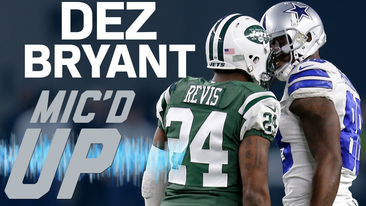 dez-bryant-s-best-mic-d-up-moments-with-the-cowboys-sound-fx-nfl-films