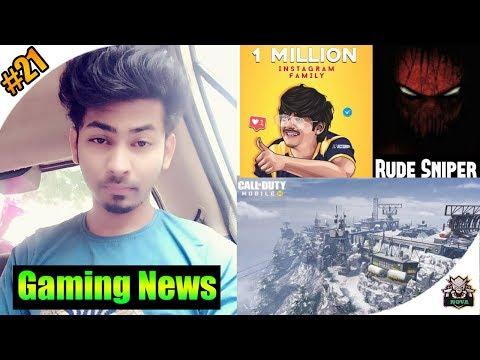 Dynamo Gaming Got Fake Copyright Strike | Mortal 1M Insta Followers | Rude Sniper Got 2 Strikes