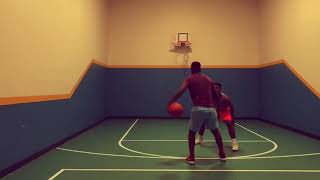 One on One practice Jean-Luc Serufuli vs Salomon Serufuli