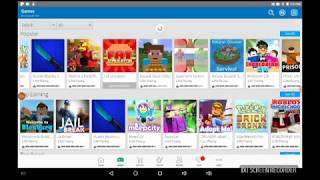 Good games to play on Roblox when using a tablet |roblox