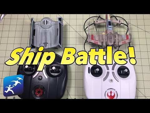 Propel Star Wars App Simulator and Combat X-Wing vs Tie Fighter