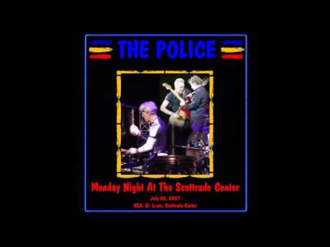 """The Police- St. Louis, MO 7-02-2007 """"Scottrade Center"""" FULL AUDIO SHOW"""