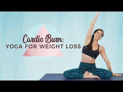Yoga for Weight Loss ♥ Cardio-BURN Workout for Mind & Body, Fat-Burning Exercises, Metabolism Boost!