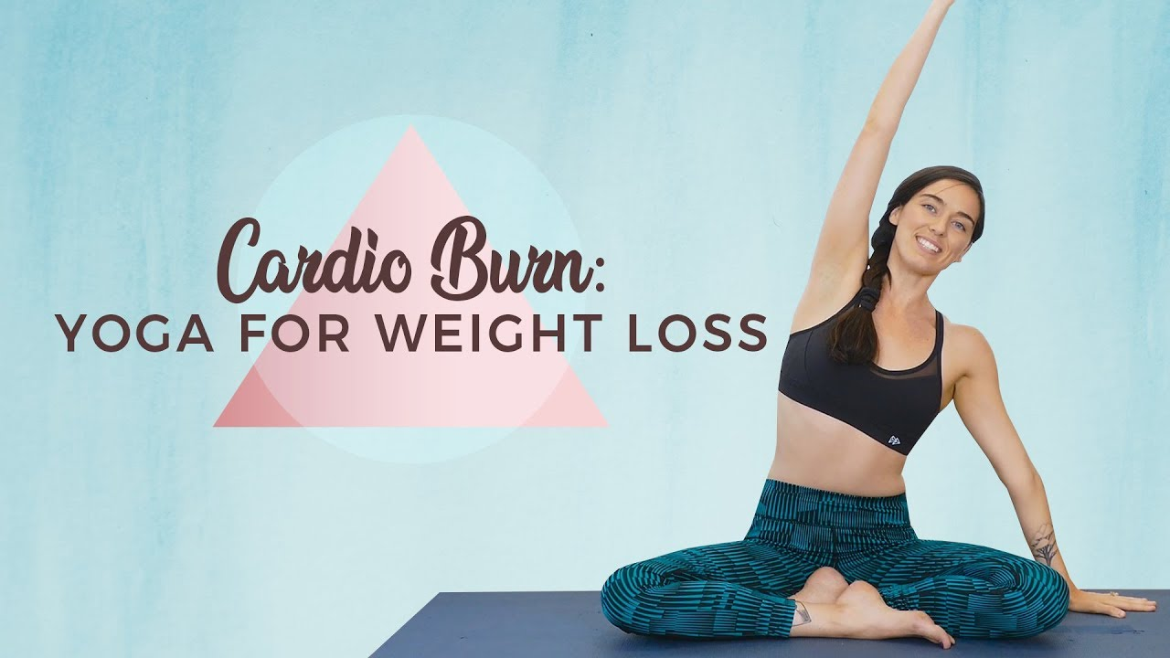 Yoga for Weight Loss ♥ Cardio-BURN Workout for Mind & Body, Fat-Burning Exercises, Metabolism Bo
