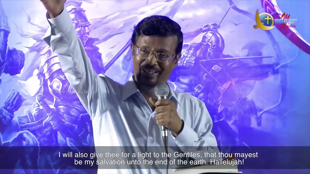 About End Time Revival in Bible (MUST WATCH) - Bro. Vincent Selvakumar