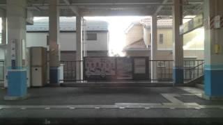 【東武野田線】船橋~馬込沢間、右側車窓