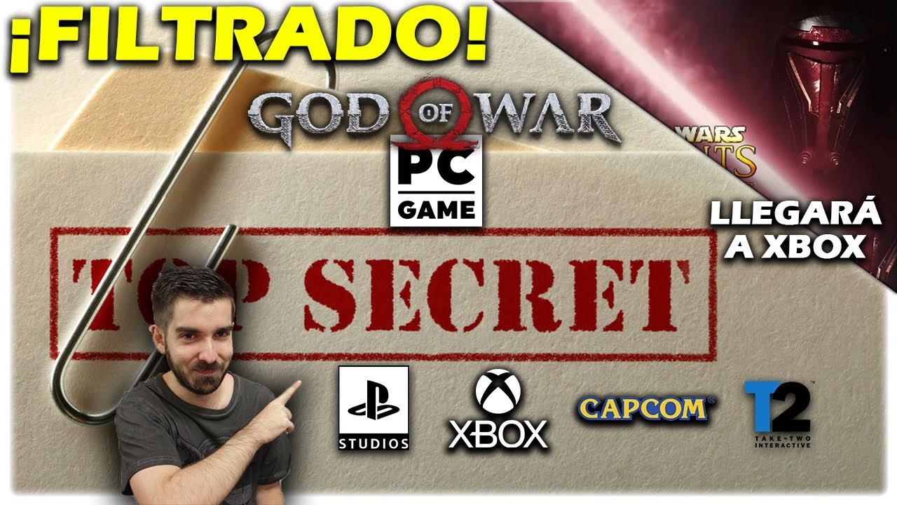 🎮 FILTRACIÓN: juegos de Xbox y PS5 para PC | KOTOR en Xbox | Game Pass - Sony - God of war - Semons