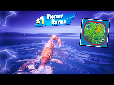 Swimming Around The ENTIRE MAP (we Won)