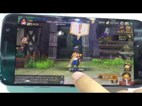 Dragon Nest Mobile Gameplay footage