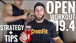 CROSSFIT OPEN WORKOUT 19.4: Live Reaction, Strategy and Breakdown