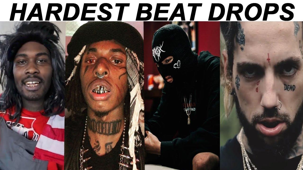 Hardest BEAT DROPS In Rap Songs Pt  10!