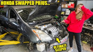 K Swapping My Toyota Prius - Part 2