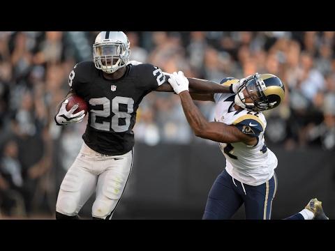 Latavius Murray To Minnesota Vikings From Oakland Raiders In NFL Free Agency