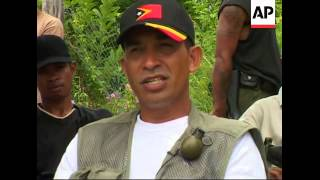 WRAP International security forces raid rebel hide-out; ADDS Alfredo comment