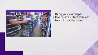 Tips for a safe trip to the grocery store