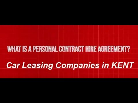 Car Leasing Companies in Kent - Personal Contract Hire Explained