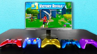 Every Death I SWITCH My Controller in Fortnite