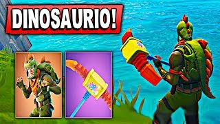 *NEW SKIN* THE LEGENDARY DINOSAURIO in Fortnite: Battle Royale Zoko