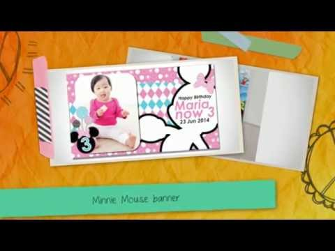 Cheap Minnie Mouse Theme Party Singapore | Island-wide Delivery