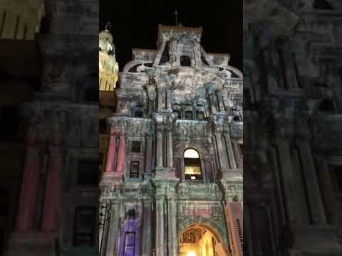 TIME LAPSE - Philadelphia City Hall 2017 Light Show