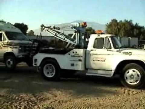 1965 ford tow truck for sale youtube. Black Bedroom Furniture Sets. Home Design Ideas