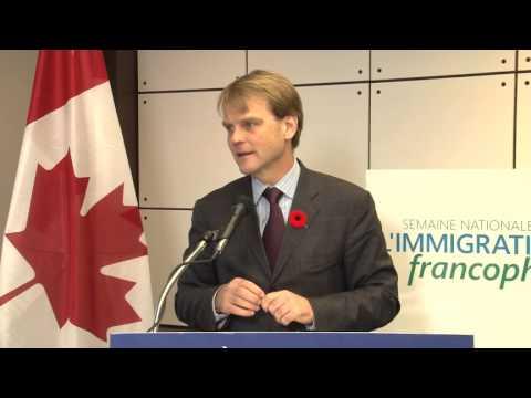 Lancement de la Semaine nationale de l'immigration francophone