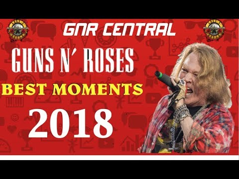 Guns N' Roses: Best Moments Of 2018 So Far!