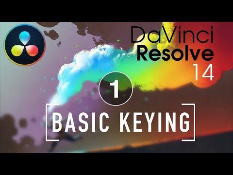 DaVinci Resolve in a Rush: Episode 01 Basic Keying