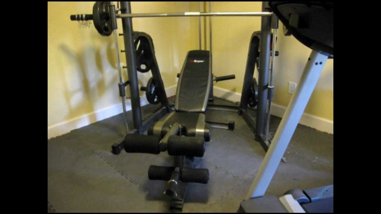 Fitness Exercise At Home S A Gear Smith Machine For