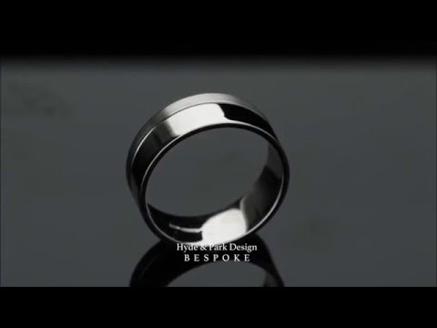 Contemporary Mens Wedding Ring