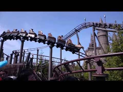 Universal Studios Japan: Flight of the Hippogriff (April 2014)
