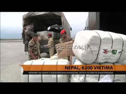Nepal, 6200 viktima - Top Channel Albania - News - Lajme