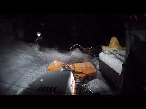 Schneeräumung Serfaus 6.1.2019