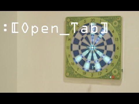 This dartboard brings your bar game to the web (Open_Tab)