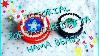 TUTORIAL HAMA BEADS #2: Porta-Cuffie Capitan America e Sushi!!!