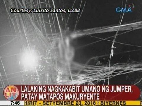 UB: Lalaking nagkakabit umano ng jumper, patay matapos makuryente sa Tondo, Manila