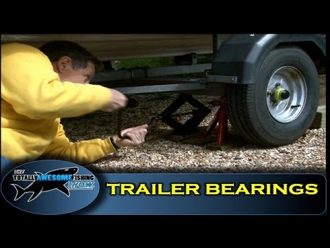 How to grease & change trailer wheel bearings