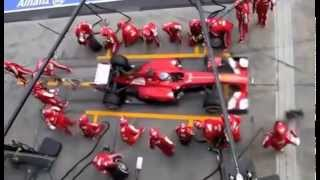 F1 Pit Stops 1950 vs 2013: Quick Changeover / SMED