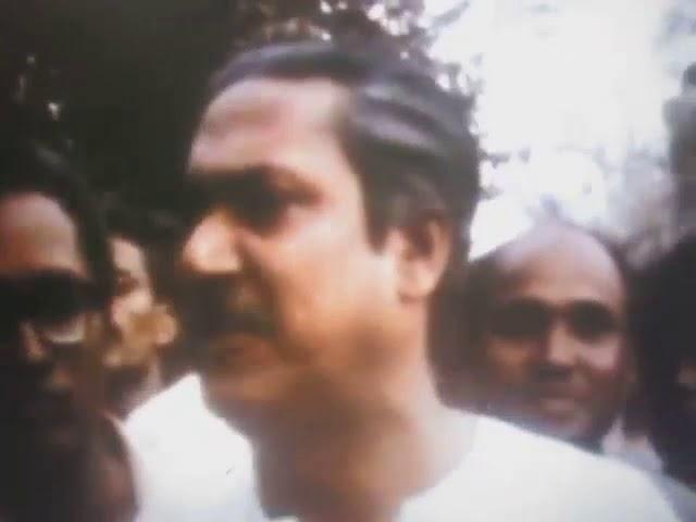 ২৩ মার্চ ১৯৭১ঃ বিদেশী সাংবাদিকদের সাথে গ্রেফতার পূর্ব শেখ মুজিবের শেষ সাংবাদিক সম্মেলনে