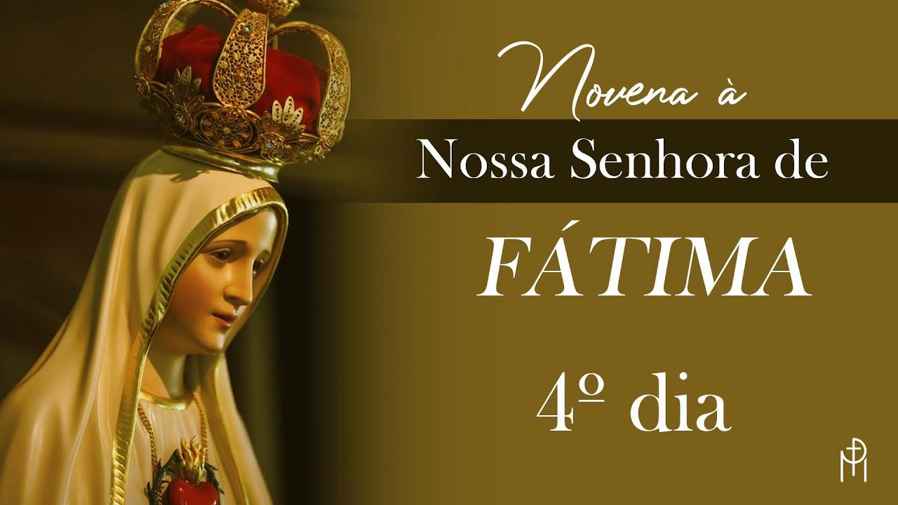 Novena à Nossa Senhora de Fátima   4º dia   Padre Mario Sartori