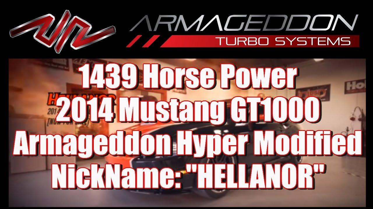 1400 Horsepower 2014 Mustang GT1000: Sale went WRONG