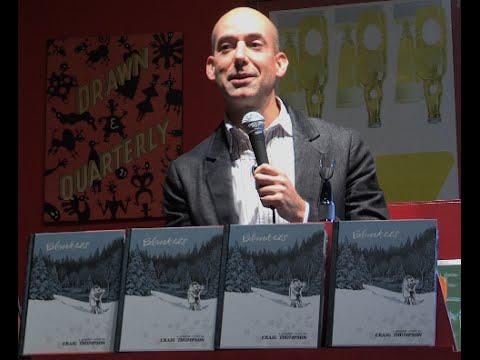 Qulture - WEB EXTRA - Graphic Novelist Craig Thompson discusses 'Blankets'